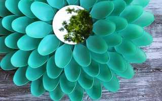 Изготовление поделки из пластиковых ложек своими руками: на новый год, ананас, ко дню матери, цветы и другие. Фото