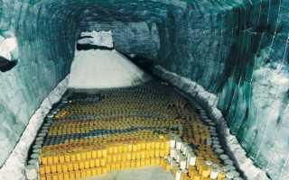 Классификация, сбор, транспортировка, захоронение радиоактивных отходов