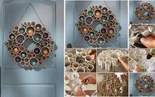 Изготовление поделок из пластиковых труб для детей , огорода и дома своими руками