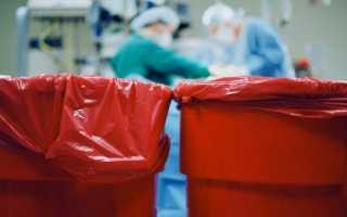 Сбор, перемещение, хранение, обезвреживание и утилизация медицинских отходов класса В