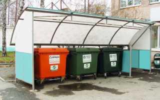 Установка, устройство и содержание контейнерной площадки для сбора ТБО