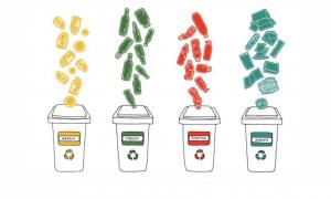 Цвета баков и контейнеров для раздельного сбора мусора, виды по назначению