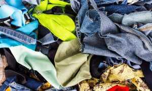 Технология переработки одежды, вышедшей из употребления