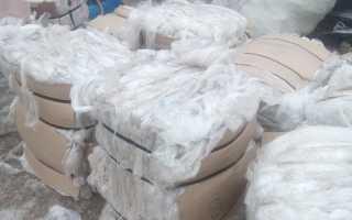 Переработка отходов ПВД (полиэтилена высокого давления), вторичное использование гранул