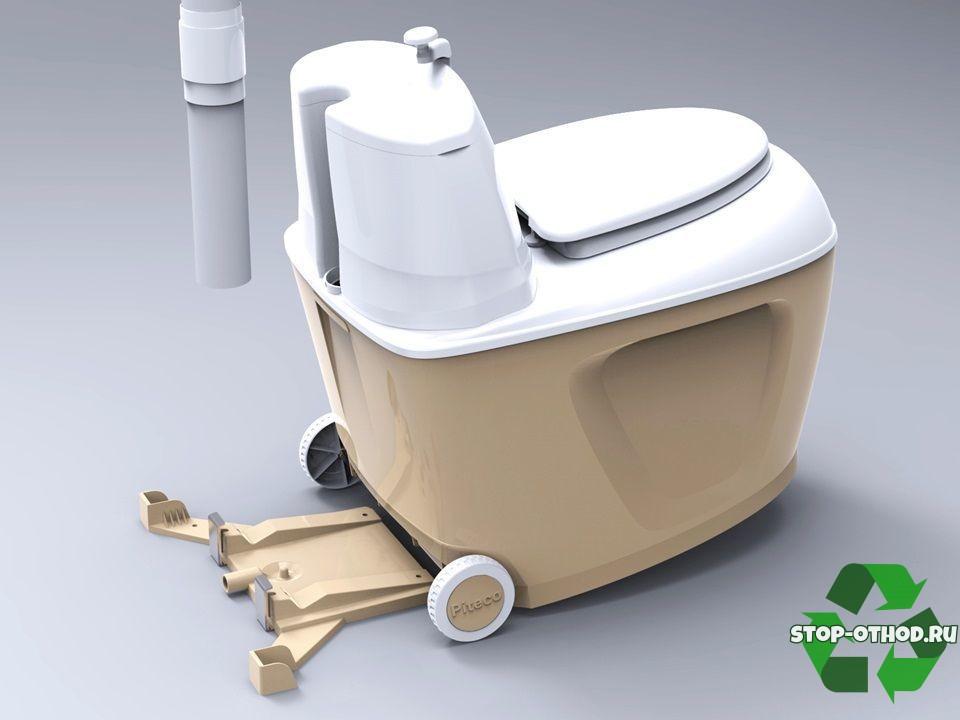 Туалет на колесиках