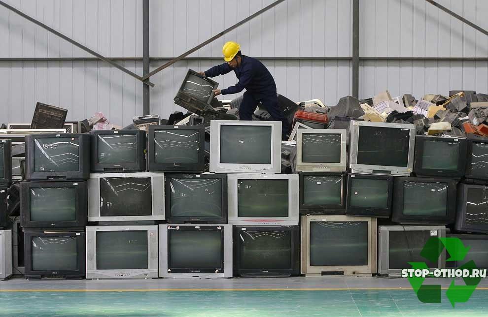 Старые кинескопные телевизоры
