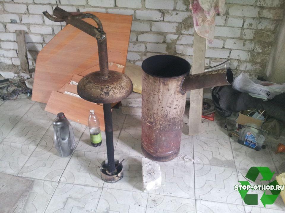 Элементы для котла на отработке