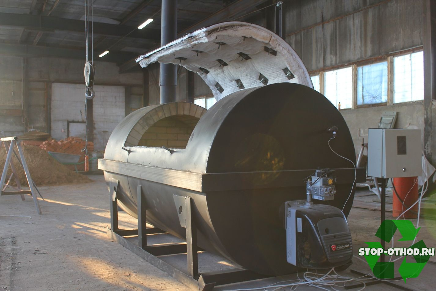 Крематор для сжигания