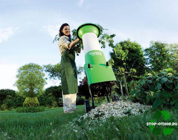 садовый измельчитель Viking GE 250