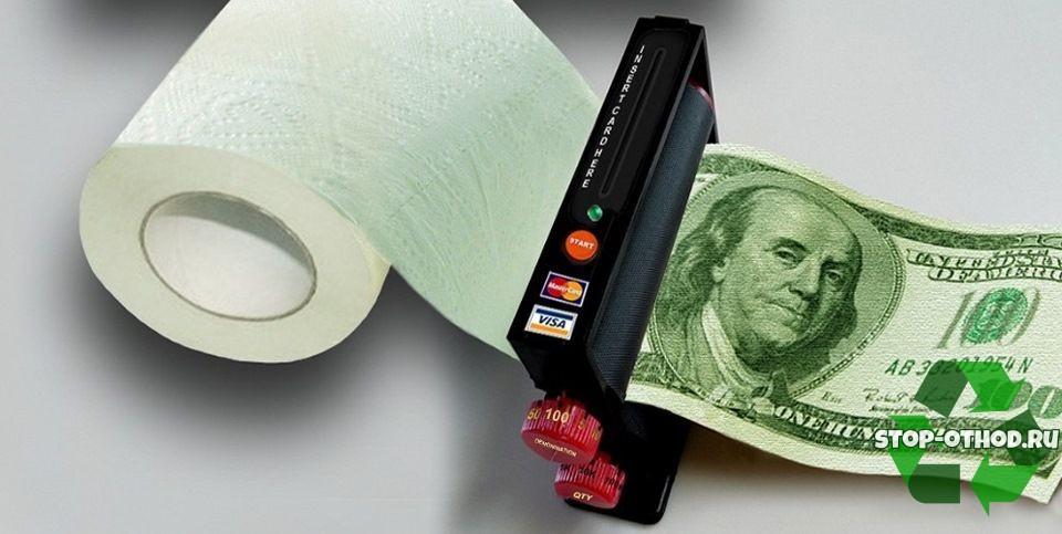 Окупаемость бизнеса по изготовлению туалетной бумаги