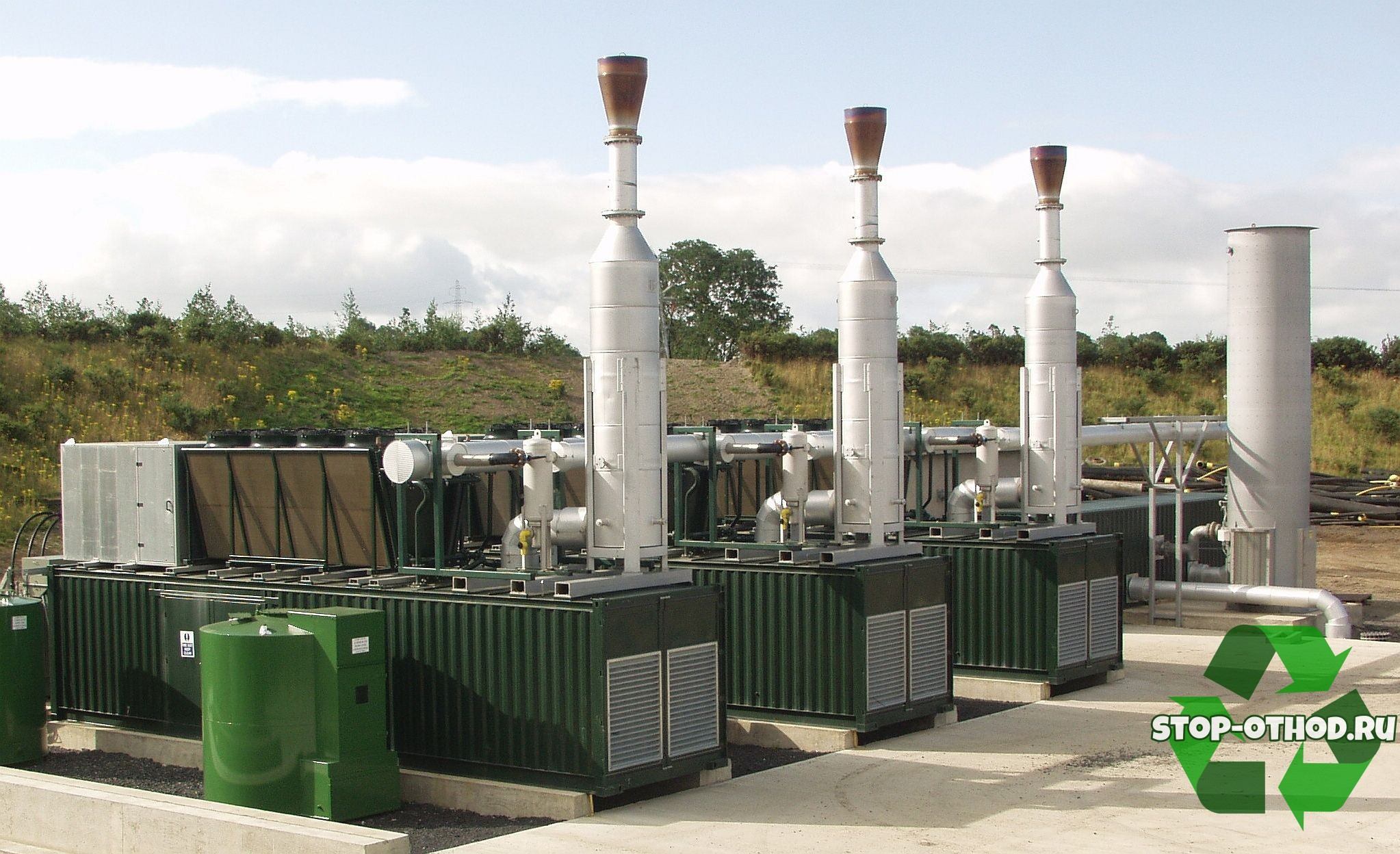 системы по переработке свалочного газа
