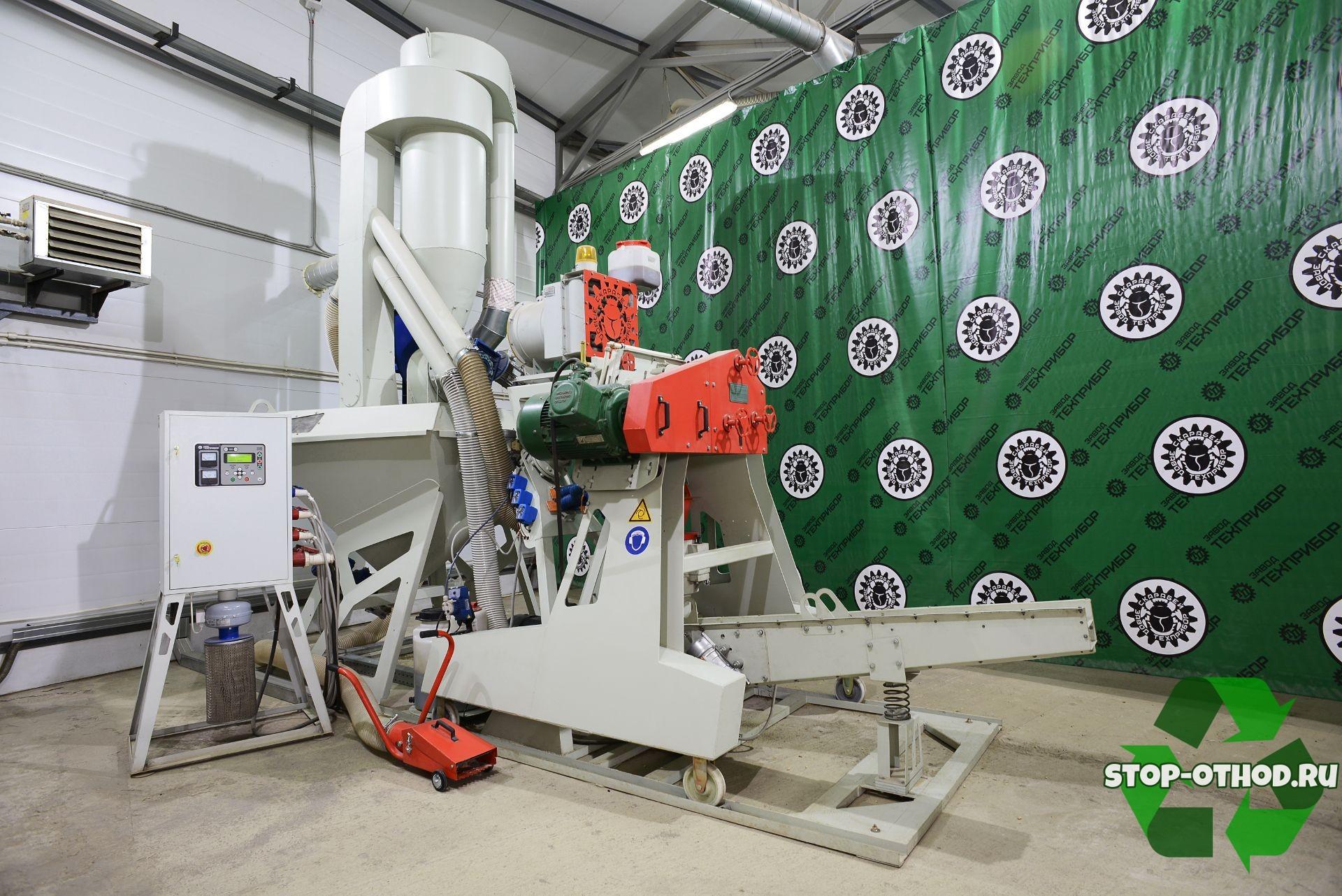 Оборудование по производству пеллет