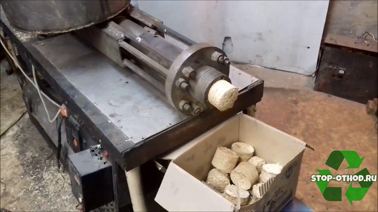 технология изготовления брикетов