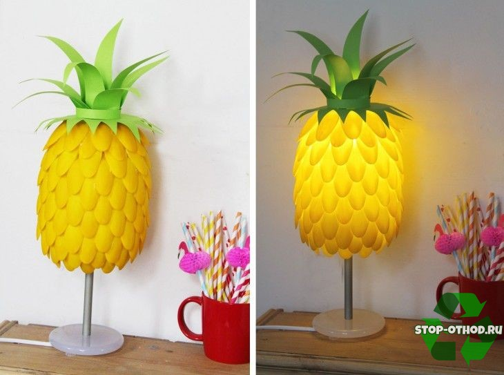 Светильник-ананас