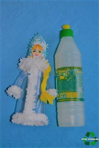 Снегурочка из бутылки