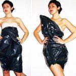 платья из пакетов
