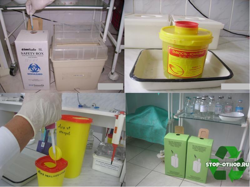 Обеззараживанием отходов класса Г
