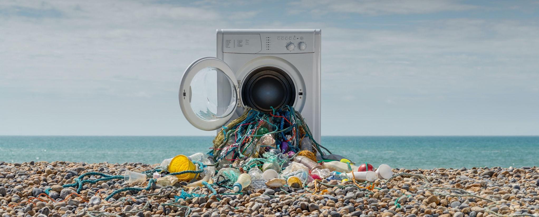 стиральная машина и мусор