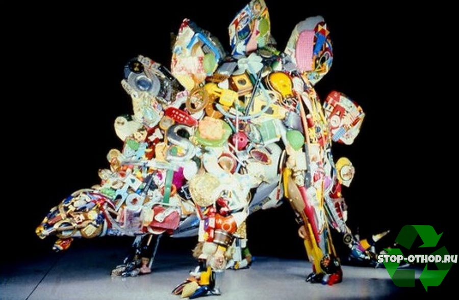 произведения искусства из отходов