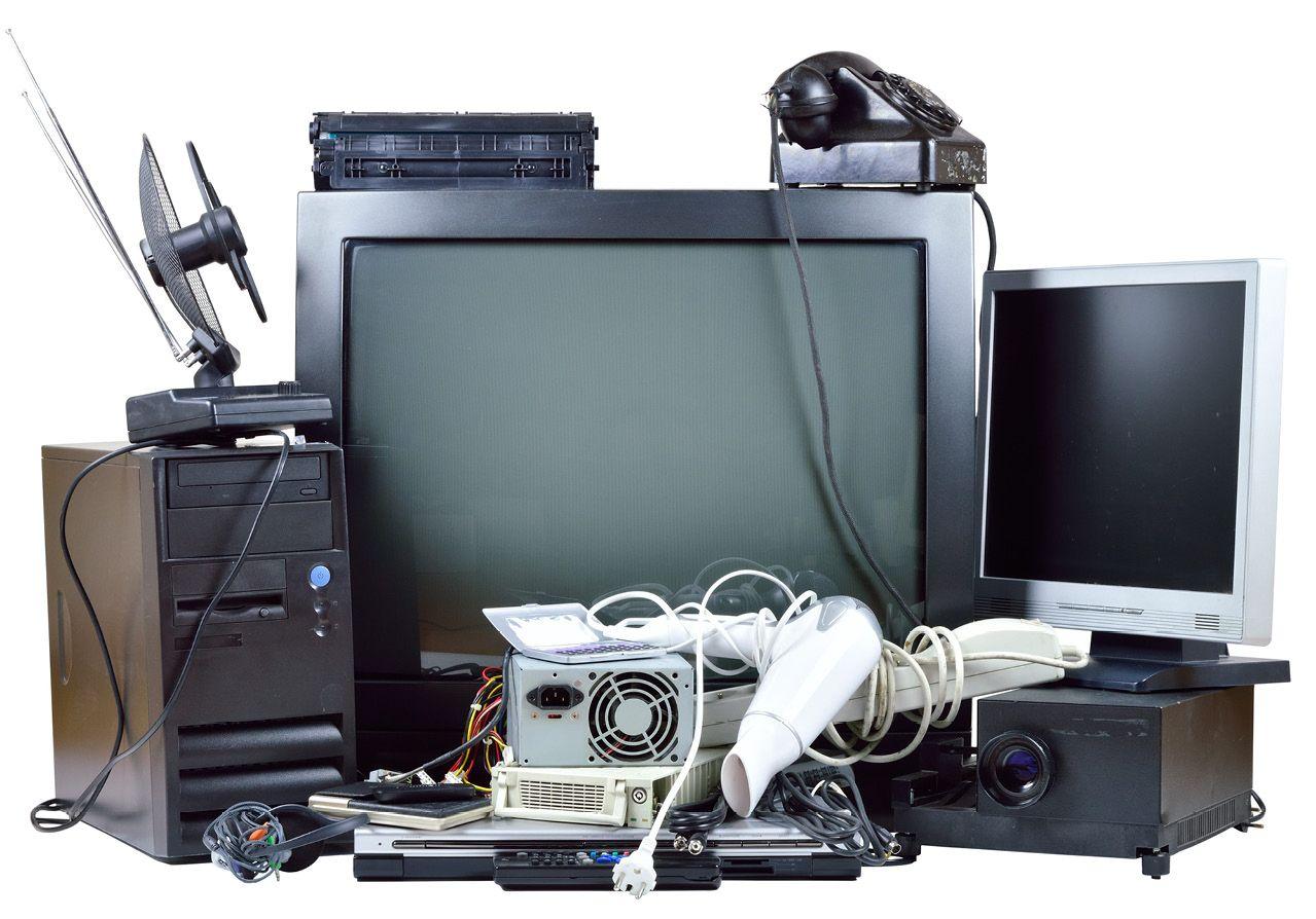 сломанные телевизоры