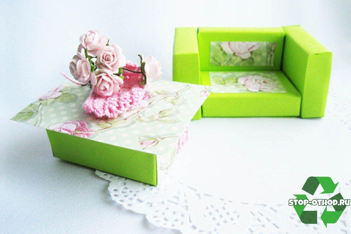 спичечная мебель