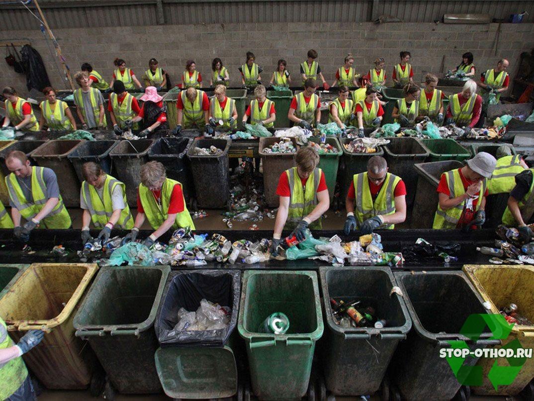 Бизнес по сортировке мусора