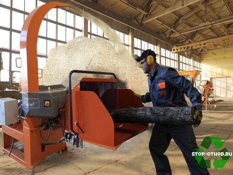 Оборудование для переработки и измельчения древесины