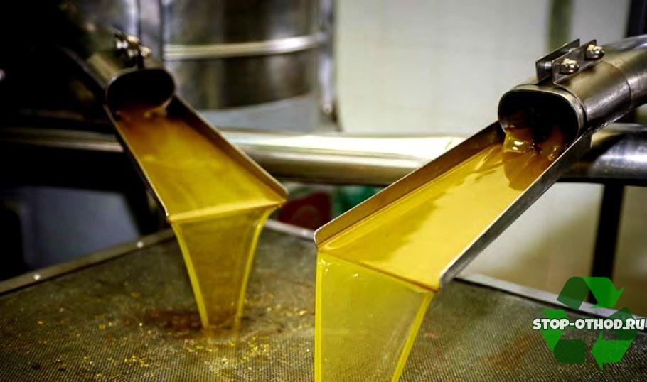 Утилизация пищевого масла