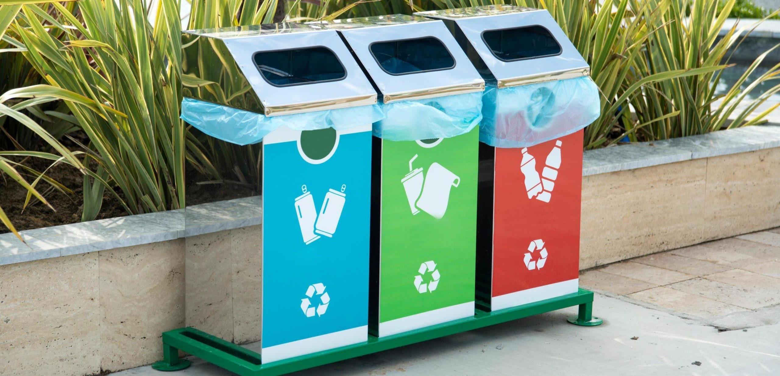 баки для раздельного сбора мусора