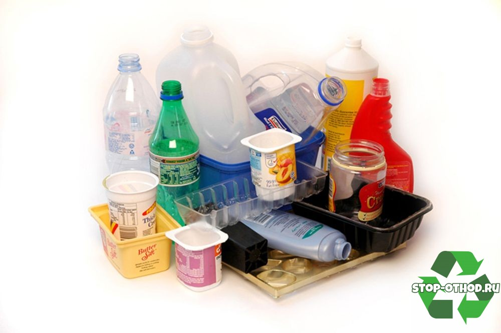 Виды пластиковых отходов