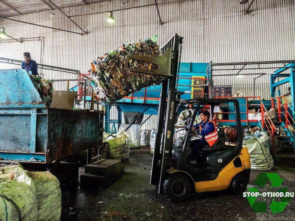 переработке пластика в России