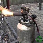 горелка на отработке